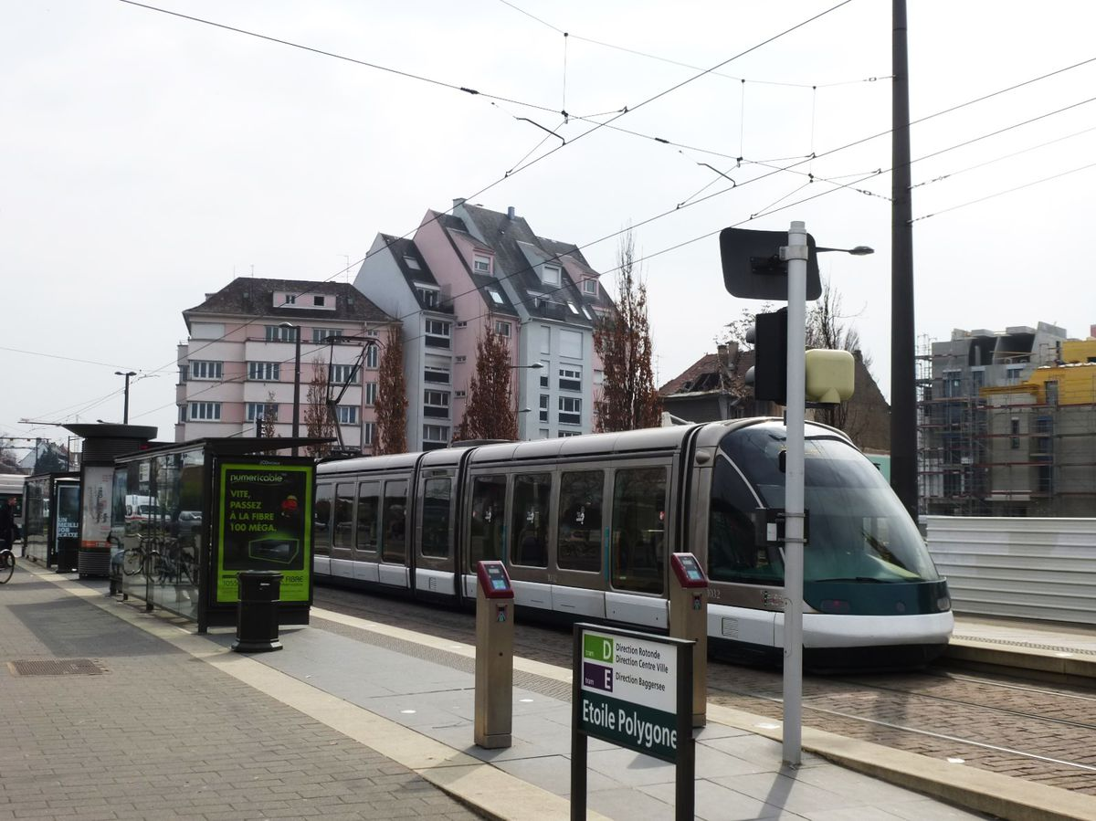 Station Tramway Etoile Polygone Strasbourg Archi Wiki