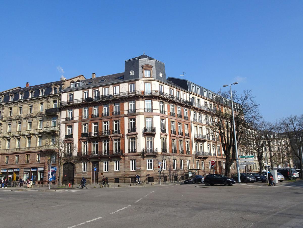 Caracteristique D Un Immeuble Haussmannien 2 rue de haguenau (strasbourg) — archi-wiki